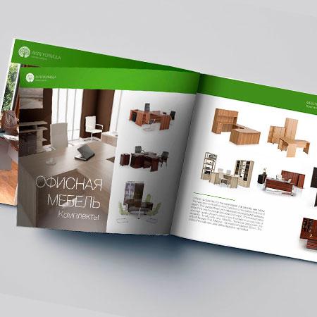 Каталог продукции для мебельной компании
