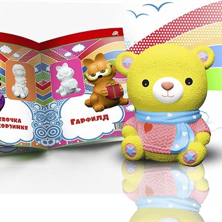 Разработан каталог продукции для изготовителя игрушек -раскрасок